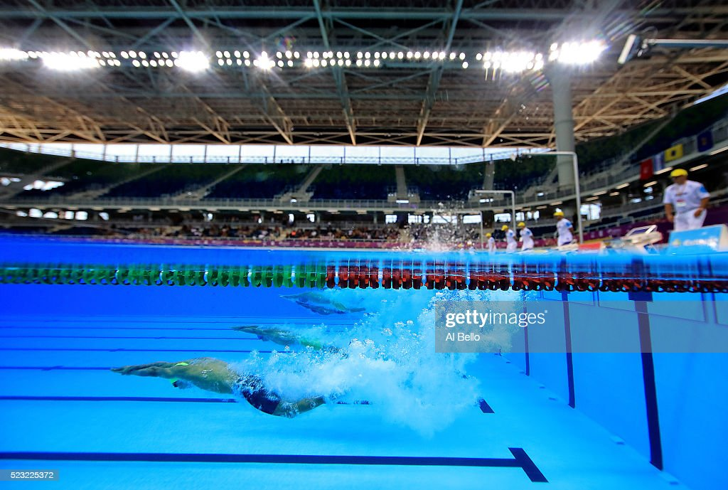 Maria Lenk Swimming Trophy  - Aquece Rio Test Event for the Rio 2016 Olympics Day 4 : News Photo