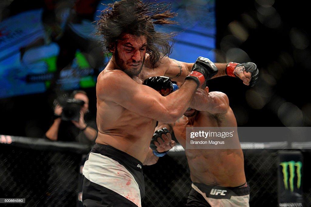 UFC Fight Night: Theodorou v Santos : News Photo
