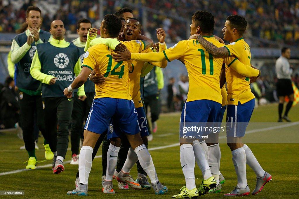 Brazil v Venezuela: Group C - 2015 Copa America Chile