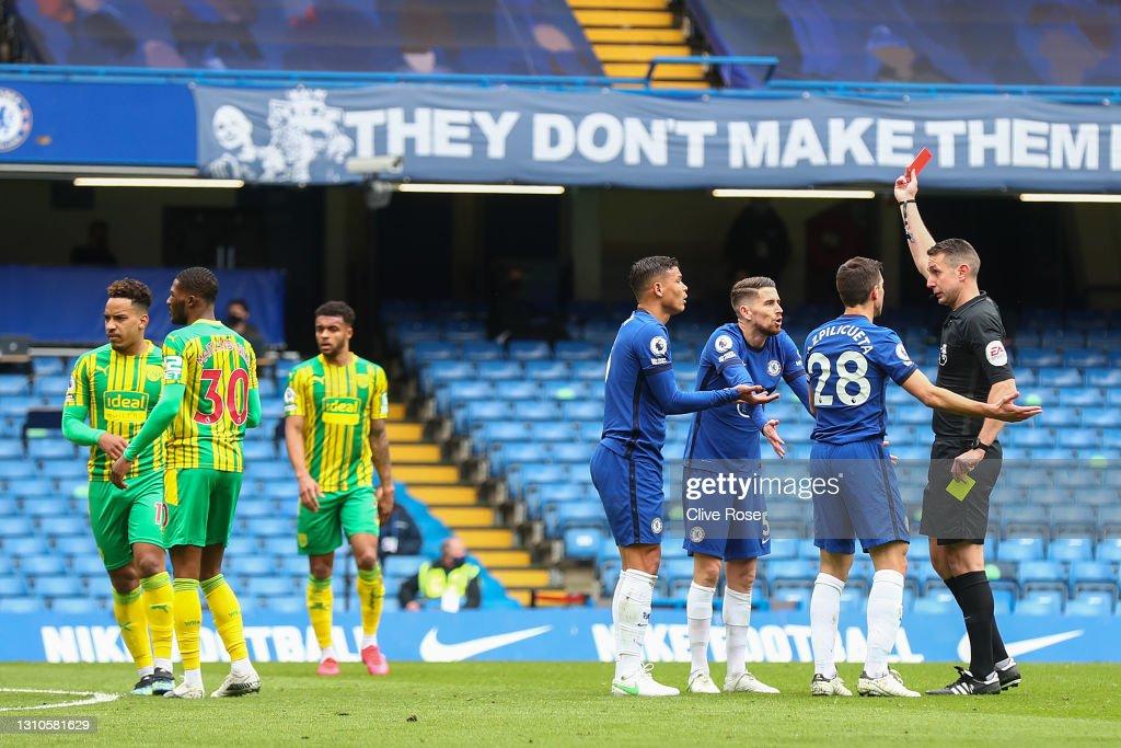 Chelsea v West Bromwich Albion - Premier League : ニュース写真