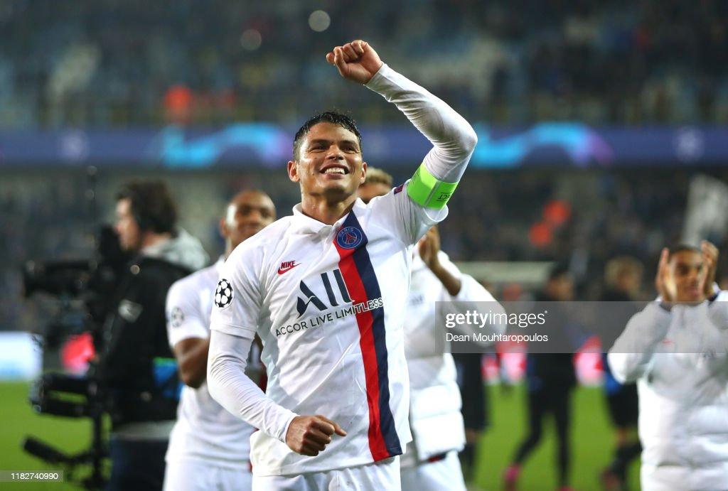Club Brugge KV v Paris Saint-Germain: Group A - UEFA Champions League : News Photo