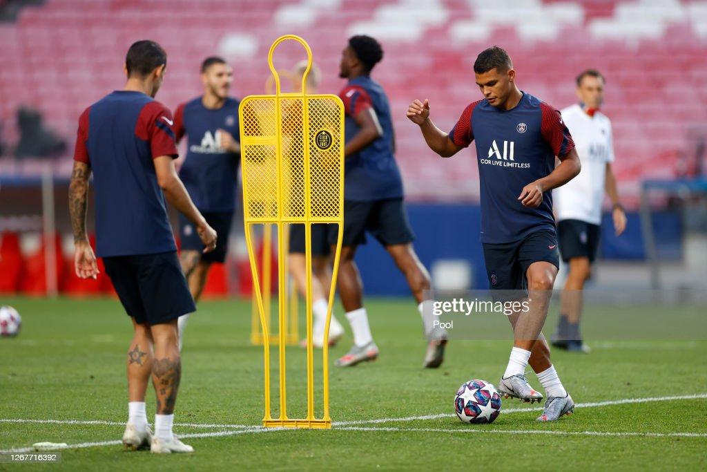 Paris Saint-Germain Training Session - UEFA Champions League : News Photo