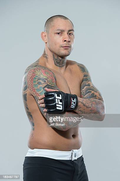 Thiago Silva poses for a portrait during a UFC photo session on October 6 2013 in Barueri Sao Paulo Brazil