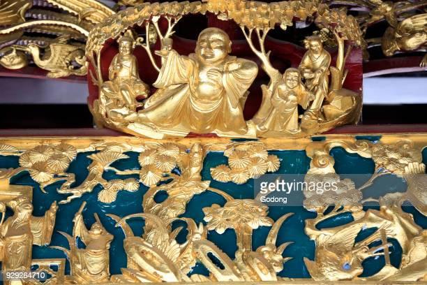 Thian Hock Keng Temple Bouddha Singapore