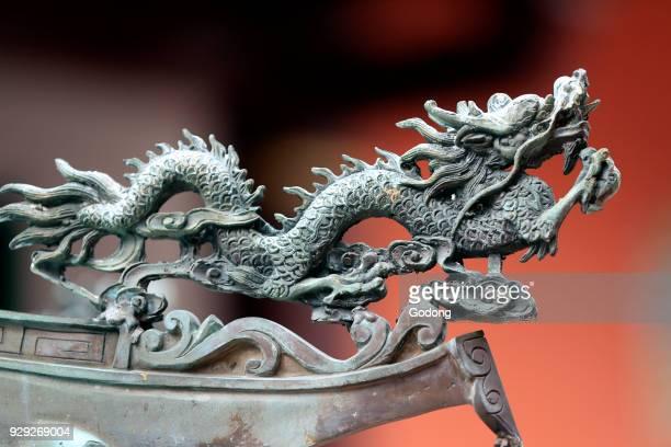 Thian Hock Keng Temple Dragon Singapore