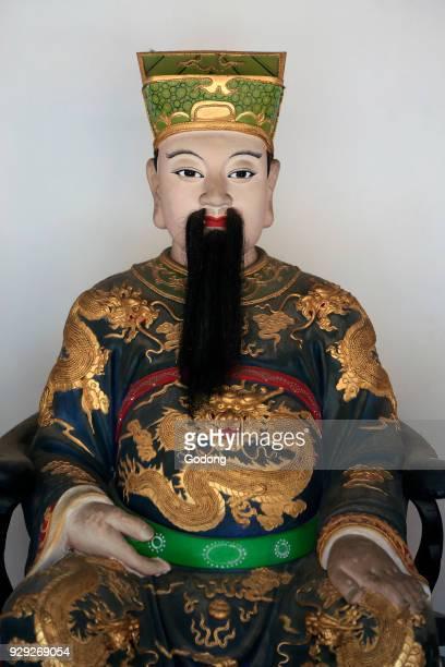 Thian Hock Keng Temple Qie Lan Pu Sa Singapore