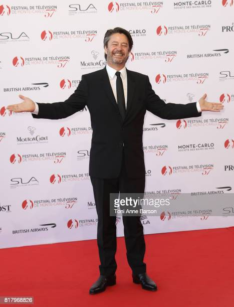 Thibault de Montalembert arrives at the Opening Ceremony of the 57th Monte Carlo TV Festival and World premier of Absentia Serie on June 16 2017 in...