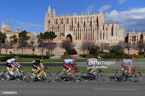 Thibault Guernalec of France and Team Arkéa - Samsic / Bryan Nauleau of France and Team Direct Energie / Ian Boswell of The United States and Team...