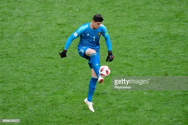 Thibaut Courtois goalkeeper of Belgium during the FIFA 2018 World Cup Russia Playoff for third place match between Belgium and England at the Saint...