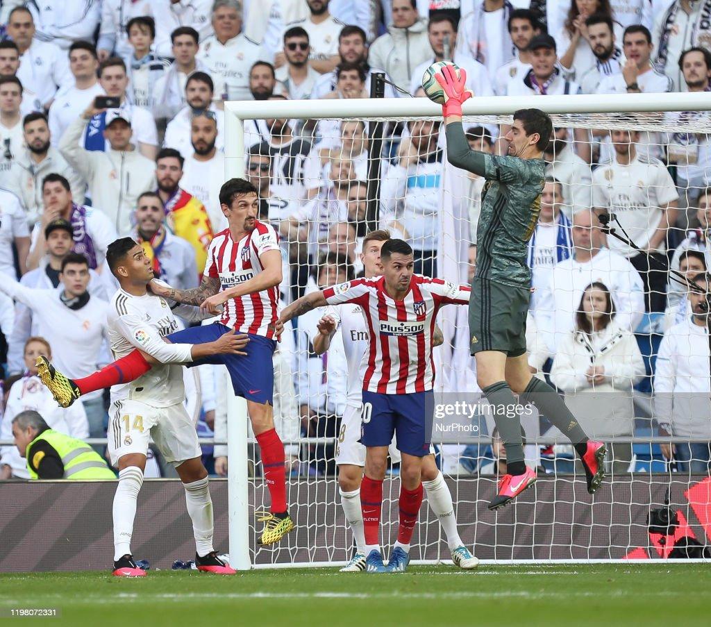 Real Madrid v Atletico Madrid - Liga : News Photo