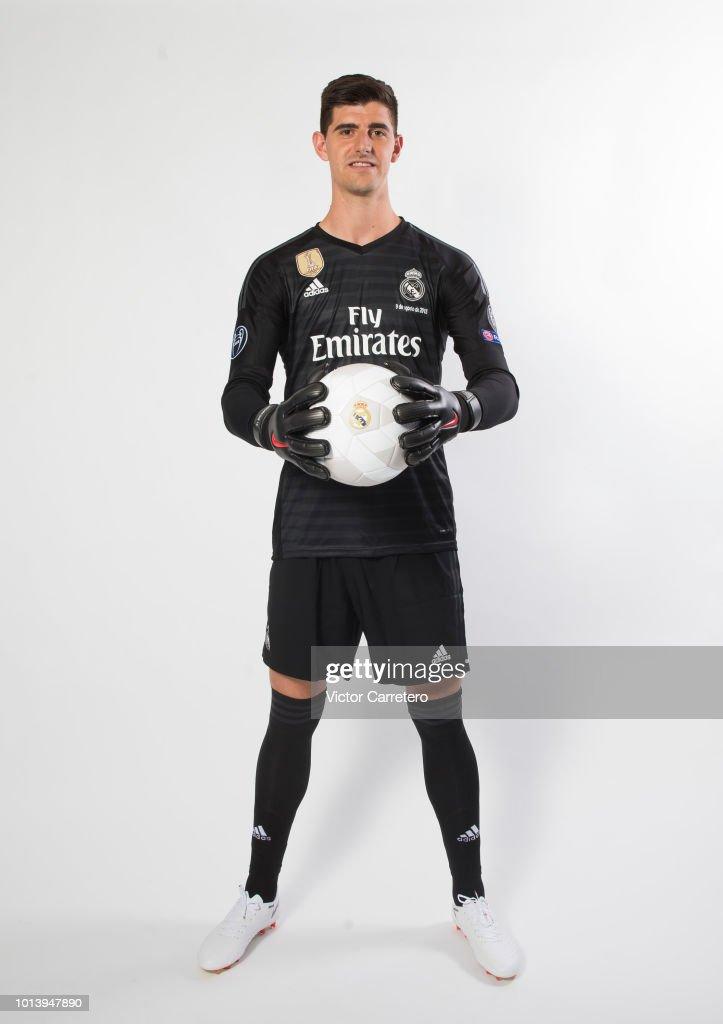 ESP: Real Madrid Unveil New Signing Thibaut Courtois