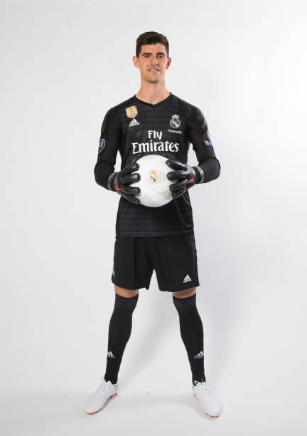 ESP: Real Madrid Unveil New Signing Thibaut Courtois
