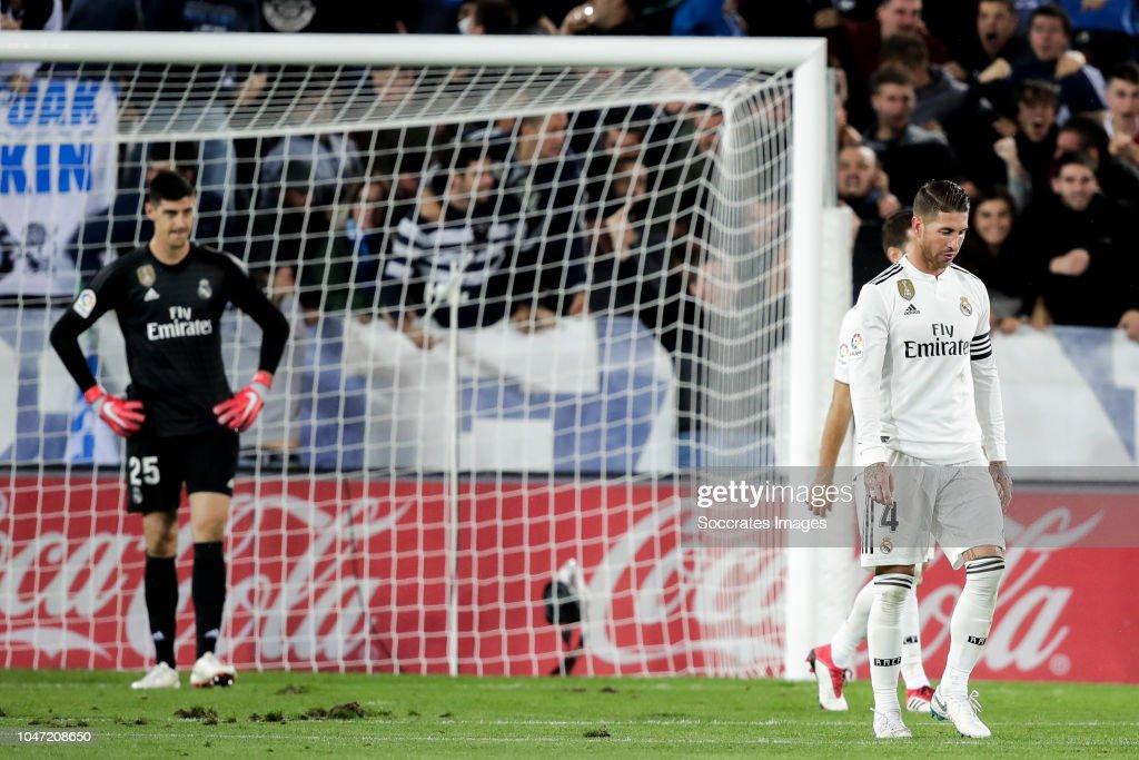 Deportivo Alaves v Real Madrid - La Liga Santander : News Photo