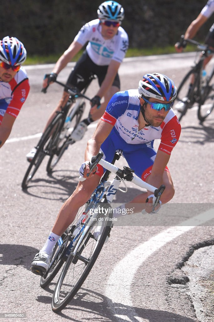 Thibaut Pinot of France and Team Groupama FDJ / during the 42nd Tour of the Alps 2018, Stage 1 a 134,6km stage from Arco to Folgaria 1160m on April 16, 2018 in Folgaria, Italy.