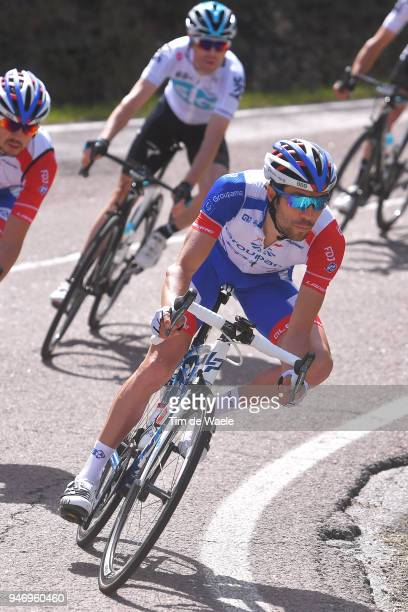 Thibaut Pinot of France and Team Groupama FDJ / during the 42nd Tour of the Alps 2018 Stage 1 a 1346km stage from Arco to Folgaria 1160m on April 16...