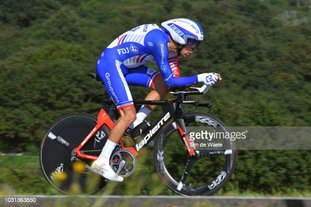 Thibaut Pinot of France and Team Groupama FDJ / during the 73rd Tour of Spain 2018, Stage 16 a 32km Individual Time Trial stage from Santillana del...