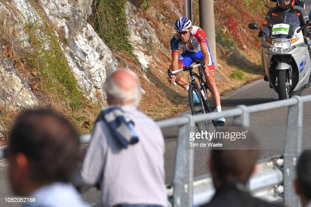 Thibaut Pinot of France and Team Groupama - FDJ / Fans / Public / during the 112th Il Lombardia 2018 a 241km race from Bergamo to Como / IL / on...