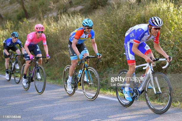Thibaut Pinot of France and Team Groupama - FDJ / Gorka Izaguirre of Spain and Astana Pro Team Leader Jersey / during the 4th Tour de La Provence...