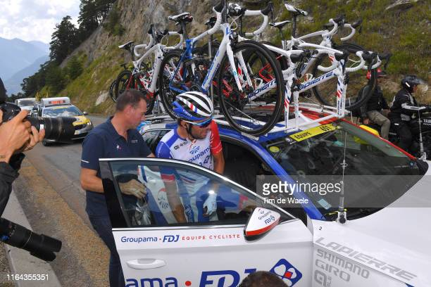 Thibaut Pinot of France and Team Groupama-FDJ / Abandon/pull out of the race / Car / during the 106th Tour de France 2019, Stage 19 a 126,5km stage...