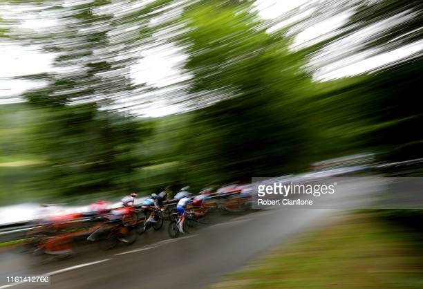Thibaut Pinot of France and Team Groupama-FDJ / Landscape / during the 106th Tour de France 2019, Stage 6 a 160,5km stage from Mulhouse to La Planche...
