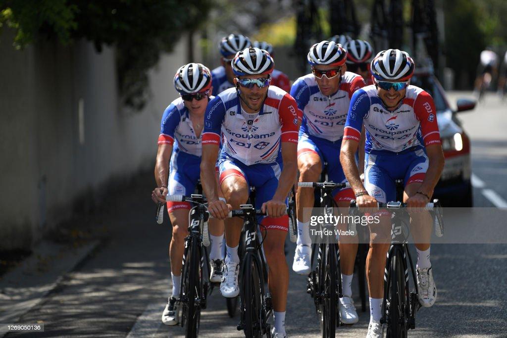 107th Tour de France 2020 - Team Groupama - FDJ - Training : Nachrichtenfoto