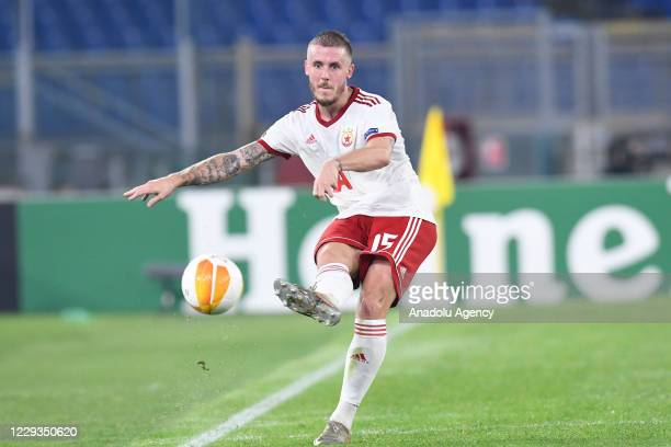 Thibaut Vion of CSKA Sofia in action during the UEFA Europa League group A match between AS Roma and CSKA Sofia at Stadio Olimpico on October 29,...