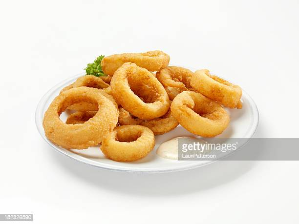 Thick Cut Onion Rings with Dip