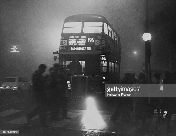 Thick Fog Chaos In The Capital In London On December 5Th 1962