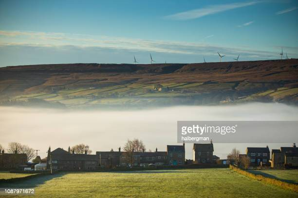 Thick Fog in the Morning in Oxenhope, West Yorkshire