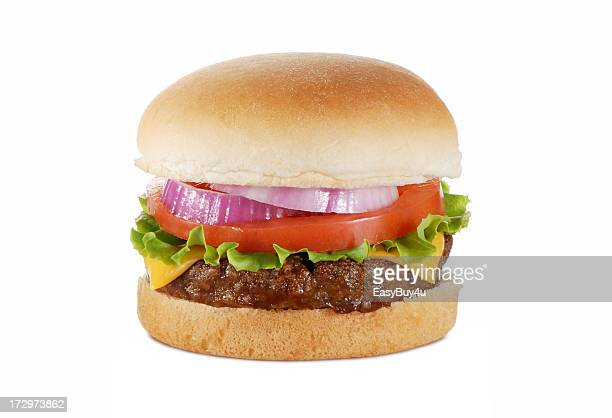 thick juicy burger - juicy stock pictures, royalty-free photos & images