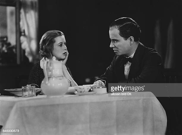 Thiele Hertha Actress Germany * Scene from the movie 'Kleiner Mann was nun' with Hermann Thimig Directed by Fritz Wendhausen Germany 1933 Produced by...