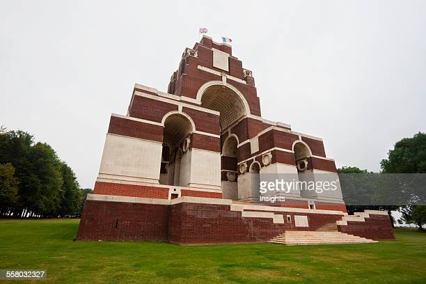 Thiepval Memorial To The Missing Of The Somme, Designed By Sir Edwin Lutyens, Thiepval, Somme, France