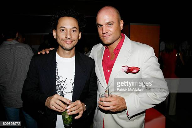 Thierry Alet and Pablo de Ritis attend The Wall Street Journal Toast to Art Basel at The Raleigh Hotel on December 5 2007 in Miami Beach FL