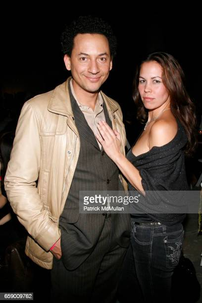 Thierry Alet and Shiva attend ROBERT MILLER GALLERY presents Dust in the Brain Attic by DUSTIN YELLIN at 524 W 26th Street on April 23 2009 in New...
