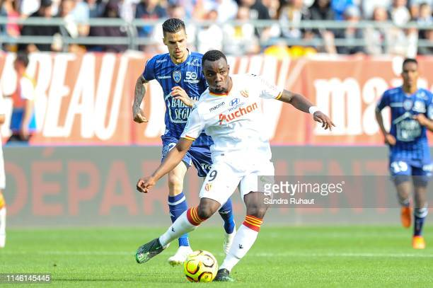 Thierry Ambrose of Lens during the Ligue 2 match between Troyes and Lens on May 24 2019 in Troyes France