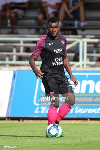 Thierry Ambrose of Metz during the preseason friendly match between FC Metz and Reims on July 24 2019 in Epernay France