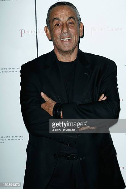 Thierry Ardisson attends 'La Petite Maison De Nicole' Inauguration Photocall at Hotel Fouquet's Barriere on January 22 2013 in Paris France