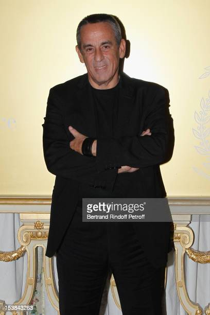 Thierry Ardisson attends the Meurice Prize for Contemporary Art 2012/2013 at Hotel Meurice on October 9 2012 in Paris France