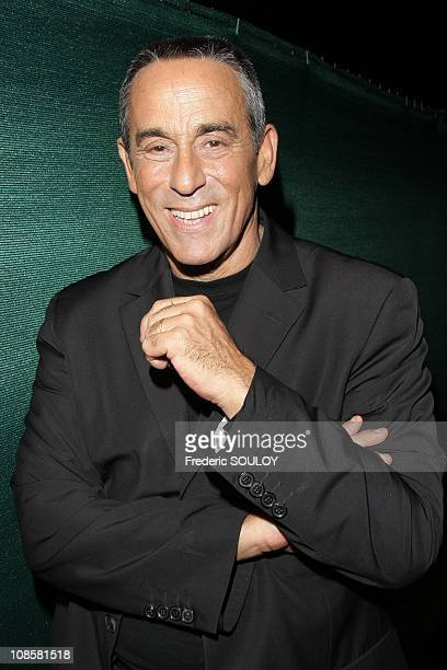 Thierry Ardisson in Paris France on August 27 2008