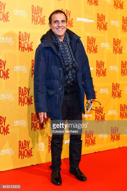 Thierry Beccaro during Baby Phone Paris Premiere at Cinema UGC Normandie on February 20 2017 in Paris France