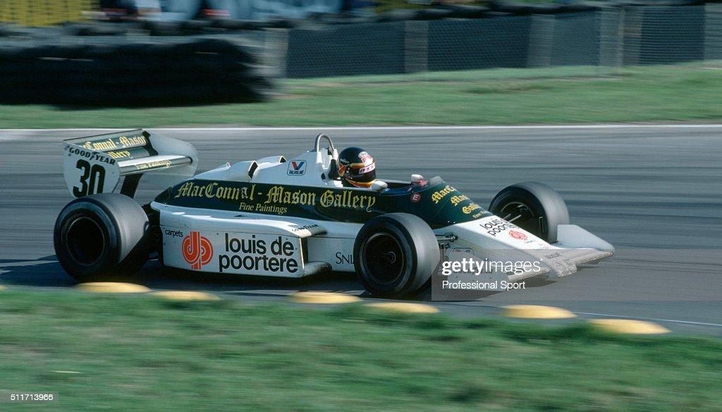 Thierry Boutsen - European Grand Prix : News Photo