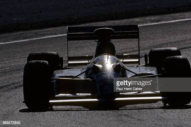 Thierry Boutsen WilliamsRenault FW13 Grand Prix of Portugal Autodromo do Estoril 24 September 1989