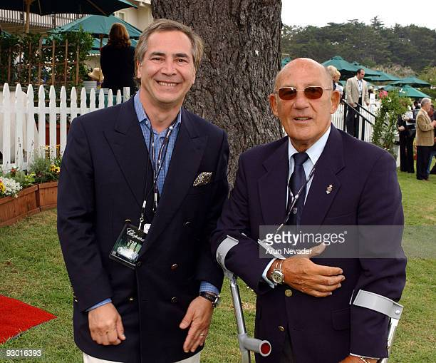 Thierry Chaunu President of Chopard USA and Sir Stirling Moss