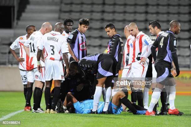 Thierry DEBES - - Istres / Ajaccio - 11eme journee de Ligue 2 - Stade Parsemain - Istres,