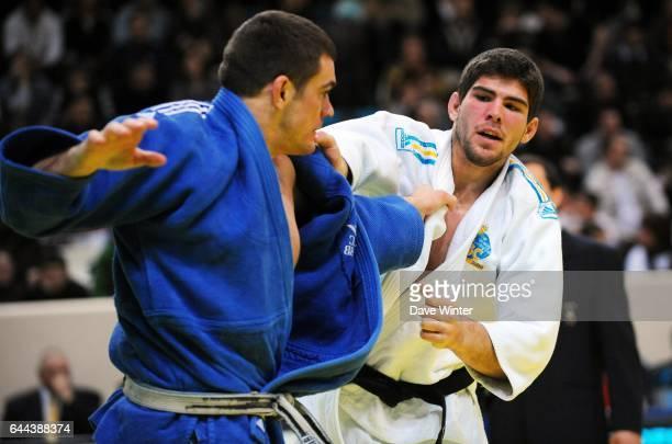 Thierry FABRE / Cyrille MARET 100kg Championnats de France de Judo Stade Coubertin Photo Dave Winter / Icon Sport