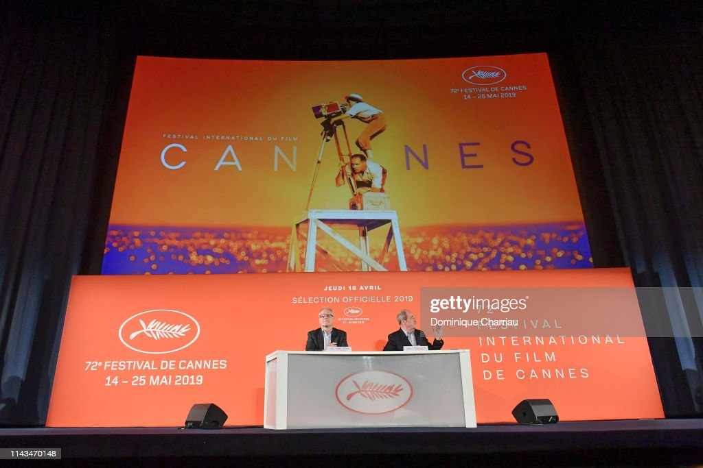 FRA: 72th Cannes Film Festival Official Selection Presentation At UGC Normandie In Paris