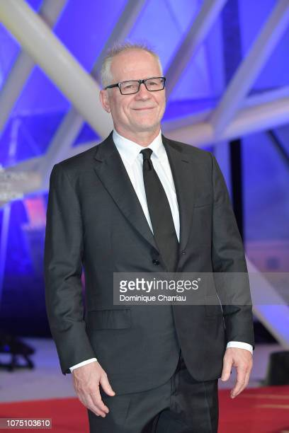 Thierry Fremaux attends the 17th Marrakech International Film Festival opening ceremony on November 30 2018 in Marrakech Morocco