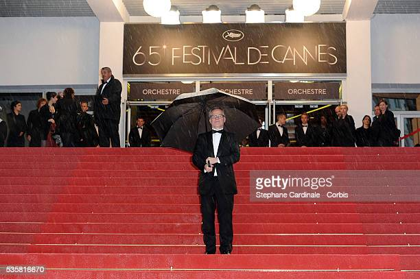 """Thierry Fremeaux at the premiere for """"Amour"""" during the 65th Cannes International Film Festival."""
