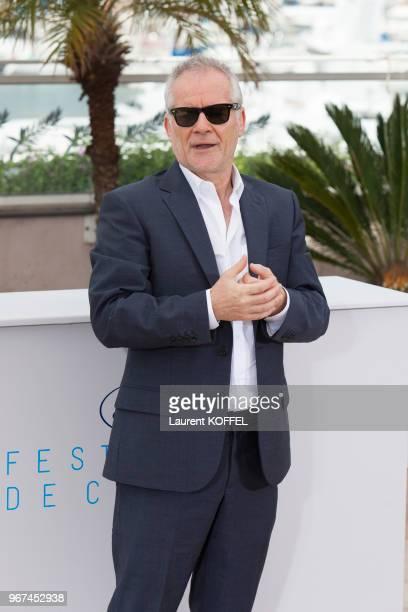Thierry Frémaux lors du 68eme Festival du Film Annuel au Palais des Festivals le 13 mai 2015, Cannes, France.
