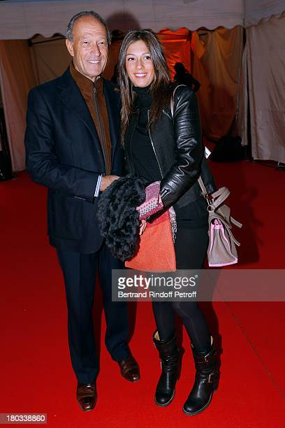 Thierry Gaubert and daughter Milena attend 'Opera En Plein Air' Gala with 'La flute enchantee' by Mozart play at Hotel Des Invalides on September 11...